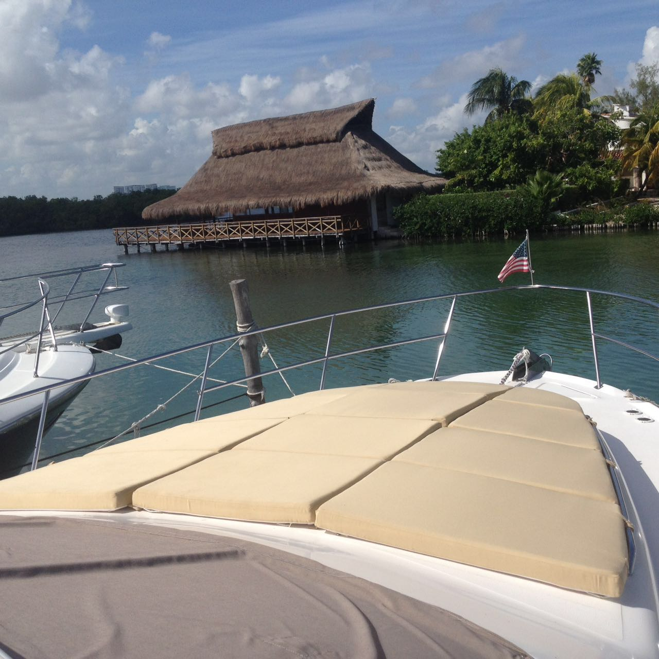 Yacht Charters in Cancun private Luxury fishing yacht charter in cancun sport fishing isla mujeres puerto morelos puerto aventuras cozumel fishing boat fishing charter fishing trip Caribbean Sea Ray 48 Feet in cancun bachelorette party