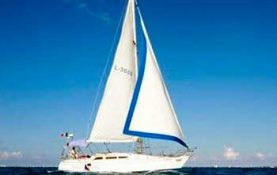 42 feet, janneau, romantic dinner, sunset cruise, long charter, sleep on board, sailboat, cancun, isla mujeres, Yacht Charters in Cancun