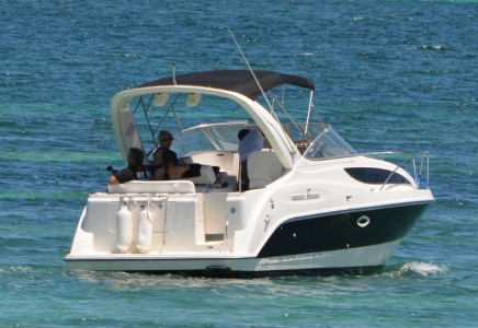 Yacht Charters in Cancun private Luxury fishing yacht charter in cancun sport fishing isla mujeres puerto morelos puerto aventuras cozumel fishing boat fishing charter fishing trip Caribbean Bayliner 35 Feet