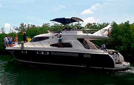 Sealine 51′ Yacht charteres Cancun, large yacht, megayacht, groups, charter, private, cancun, isla mujeres