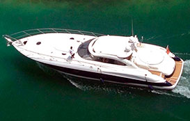 Yacht Rentals in Cancun Sunseeker 60 feet Luxury Yacht