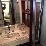 85 Azimut Yacht Charters Cancun bathroom