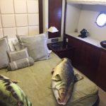 85 Azimut Yacht Charters Cancun cabin 2
