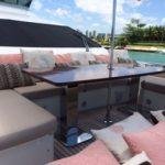 85 ft Azimut Yacht Charterts Cancun front 3