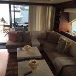 85 ft Azimut Yacht Charterts Cancun living room