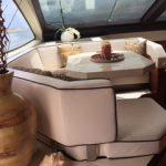 85 ft Azimut Yacht Charterts Cancun living room 2