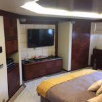 85 ft Azimut Yacht Charterts Cancun stateroom 1