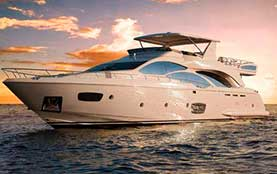 Yacht-Rentals-in-Puerto-Aventuras-Azimut-85-feet Playa del Carmen Rivera Maya Akumal Tulum Yacht Rentals