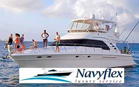 Cozumel Luxury Yacht Rentals for Private Charter Sea Ray 60 Feet