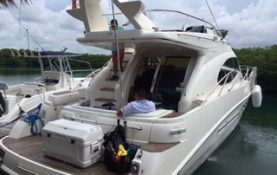 Yacht charters Cancun sealine 45