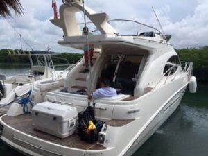 cancun yacht rentals sealine 45