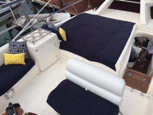 cancun yacht rentals sealine 45 flydeck